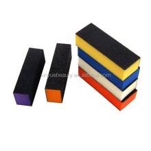 korean material 3 sided nail buffer block high quality nail buffing block 3 way buffer block