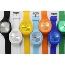 Yxl-998 Montres de sport fraîches pour hommes et femmes Montres-bracelets occasionnels Montre étudiante en gelée en silicone pour filles garçons Reloj
