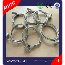 hot runner coil heaters with 230V CE certified