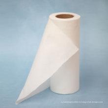 Tela no tejida de algodón natural