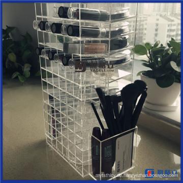 Moderner drehender Acryl Lippenstift-Halter-Fall für Verkauf