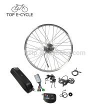 """36V 250W 26 """"28"""" 700C bon marché avec le kit de cnversion de vélo électrique de batterie de tube vers le bas"""