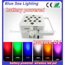 Свадебный светодиодный фонарь 12x18w rgbwa uv 6in1