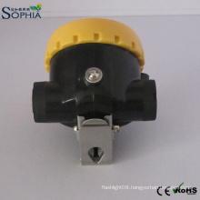 2.2ah Miners Safety Helmet Lamp LED Mining Cap Lights Lithium