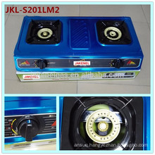 stainless steel 2 burner gas cooker stove