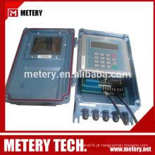 Medidor de fluxo de transdutor ultra-sônico fixo (grampo ligado)
