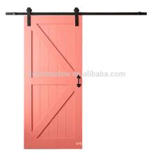 Fashion Design розовая краска цвет сосна лиственница вишневое дерево Высококачественная Деревянная Фея раздвижные двери сарая