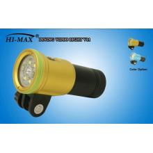 HI-MAX V11 2400 Lumen 140 Grad Weitwinkel Power Indikator Schalter Großhandel Tauchausrüstung zum Verkauf