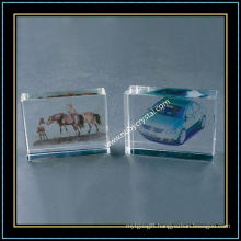 Crystal Glass Blank Cube for 3D Laser Engraving