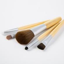 5PCS Bambu Professional Makeup Brush Set para Maquiagem de Beleza
