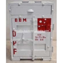Железный Контейнер Шкафа Окрашены В Белый Цвет