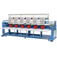 Elucky 6 head Computerized embroidery machine price for flat/cap/t-shirt
