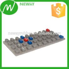 OEM No estándar Varios colores Teclado de goma de silicona
