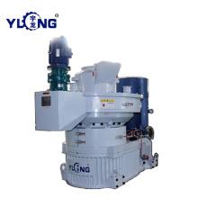 Maquinaria de la prensa de la pelotilla de la cáscara del arroz