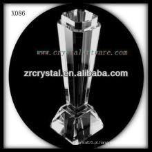 K9 prêmio de cristal em branco
