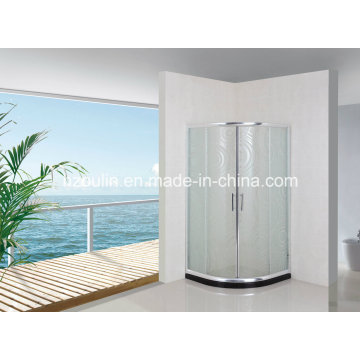Simple Bathroom Shower Screen (AS-926 without tray)