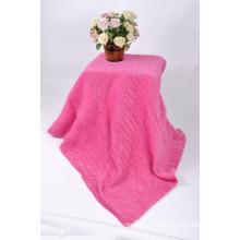 2018 comfortable Super imitation soft plait blanket