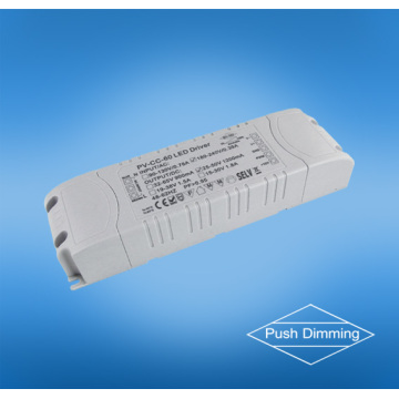 CE-goedkeuring PUSH verduistering 60 w led driver