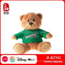 Oso de peluche con camiseta de peluche Similac Teddy Bear para la promoción