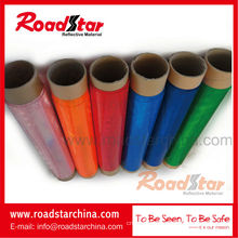 Printable reflective sheeting roll, prismatic reflective PVC roll