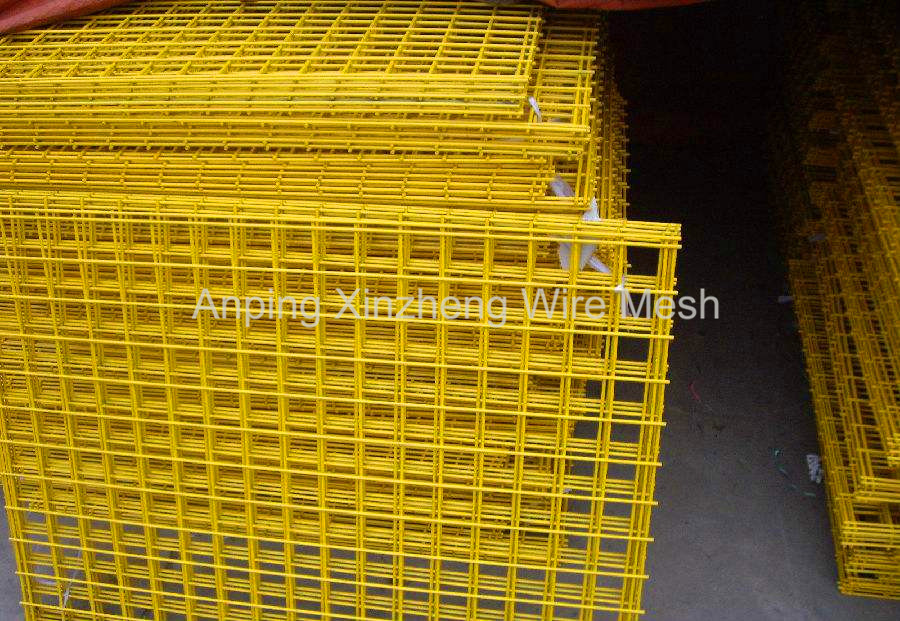 PVC Coated Welded Fence Mesh