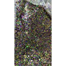 2018 Großverkauf klobige / gemischte runde Glitzerflocken für Urlaub / Weihnachten / Stoffdekoration, Kosmetik, Nagelkunst, Make-up usw