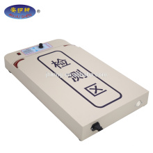 T-shirt processing table needle detector