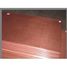 Folha de cobre e placa de cobre
