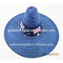 Sombrero mexicano de la paja del sombrero del sombrero gorra