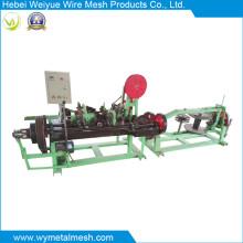 Máquina de arame farpado de dupla linha