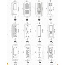 HDF Veneer Door Skin with Good Quality