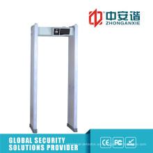 Puerta Detector de Metales de Cuadro Alarma Visual 100 Detector de Frecuencia de Trabajo