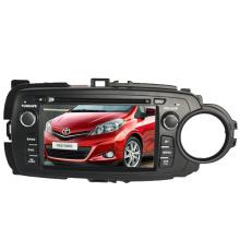 2DIN автомобильный DVD-плеер, пригодный для Toyota Yaris 2012 2013 с радио Bluetooth стерео TV GPS навигационной системы