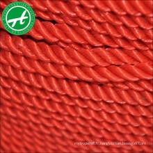 corde de sécurité en plein air corde en plastique nylon corde de torsion
