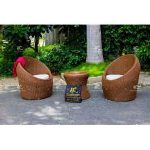 Выдающийся дизайн Поли ротанга кофе комплект на открытом воздухе сад из Вьетнама