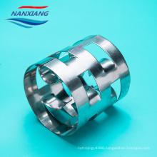 Stainless steel Metal Pall ring Metal random tower packing