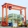 Grúas de elevación móviles del envase del muelle 20 toneladas para el puerto