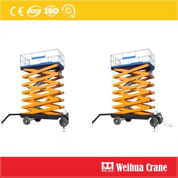 Мобильная платформа ножничного подъема