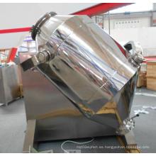 Mezclador de polvo tridimensional de acero inoxidable