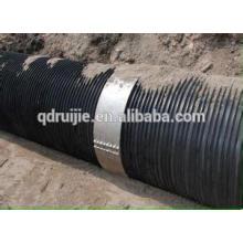 extrusión de tubo plástico de acero