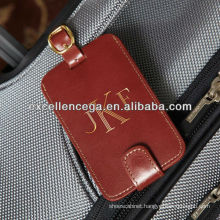 High Quality Leather Luggage Tags