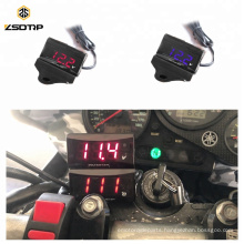 Hot Sale Voltmeter Voltage Meter LED Digital Display Speedometer for Scooter GY6 50 125 150 GP110 BWS125 RS100
