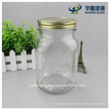 1000ml 1liter Bulk Ice Cold Engraved Food Glass Mason Jar