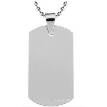 Titanium Steel Army Card Stainless Steel Dog Tag, Wholesale Custom Metal Tags