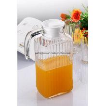 Jambon de jus de verre 1.8L avec couvercle