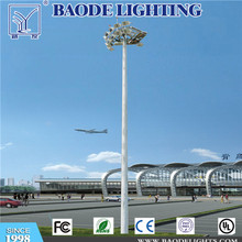15m 10PCS 400W HPS mástil alta iluminación