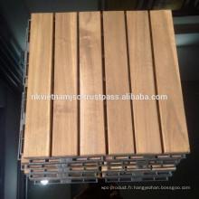 Plancher en bois pour meubles extérieurs / Interlocking Plate-forme de bricolage Tile New Design 2017