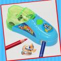 Geschwindigkeitsüberschreitung fahren Mini Car Shoe Toy mit Anspitzer Candy
