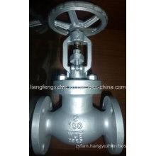 150lb/300lb/600lb Carbon Steel Flange End Globe Valve RF