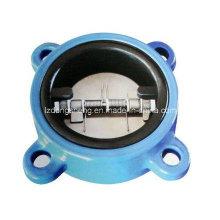 Резиновый клапан с двойным обратным клапаном типа Rubnated Coated Pn16